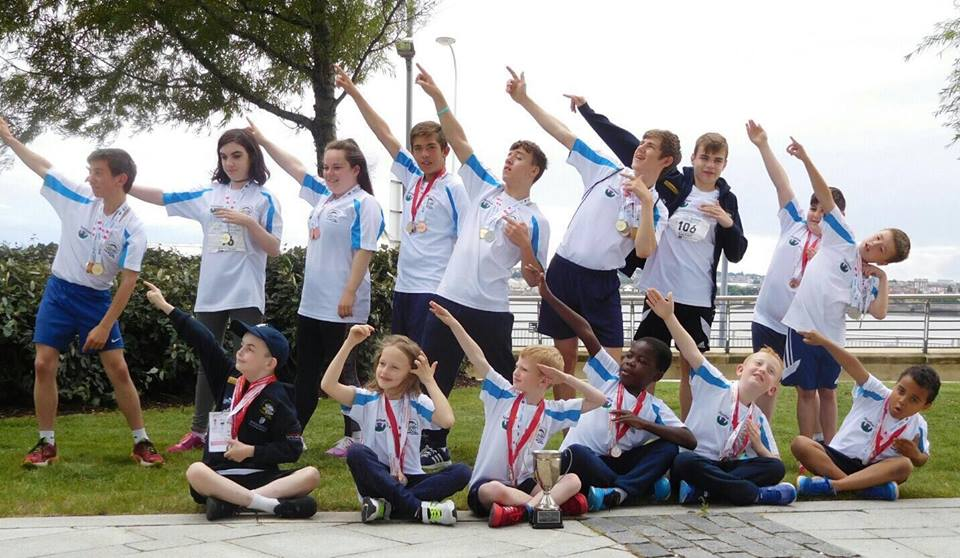 the kidney kids transplant games team